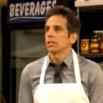 Late Night with Jimmy Fallon pizza parlor scene with Ben Stiller
