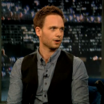 Late Night with Jimmy Fallon Patrick J Adams talks about the new season of his show Suits