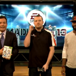 Late Night with Jimmy Fallon squares off against New York Jets Pro Bowl cornerback Darrelle Revis
