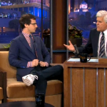 "Tonight Show with Jay Leno Andy Samberg on new movie ""That's My Boy"" with Adam Sandler."
