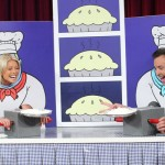 Late Night with Jimmy Fallon Rock, Paper, Scissors, Pie with Kelly Ripa