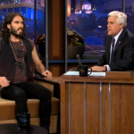 Tonight Show With Jay Leno 10/25/2012 Russell Brand and Jane Lynch