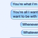 "WALTHAM ""You're Everything That I Want"" iPhone Text Lyric Video"
