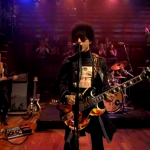 Late Night With Jimmy Fallon Musical guest Prince performs