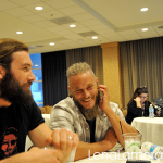VIKINGS Travis Fimmel and Clive Standen Interview