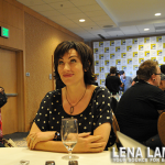 "SONS OF ANARCHY Maggie Siff ""Tara"" Interview"