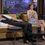 Chris Hemsworth talks to Jay Leno about 'Rush' and Australian soap operas