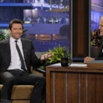 Hugh Jackman talks to Jay Leno about 'Prisoners' and Italian pasta from outer space