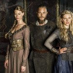 VIKINGS photos – Ragnar, Lagertha, and Aslaug love triangle