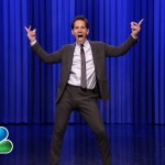 Paul Rudd and Jimmy Fallon lip-sync battle on 'Tonight Show'