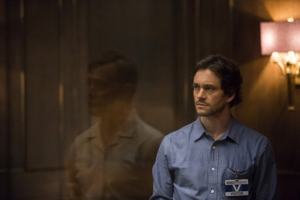 "HANNIBAL -- ""The Wrath of the Lamb"" Episode 313 -- Pictured: Hugh Dancy as Will Graham -- (Photo by: Brooke Palmer/NBC)"