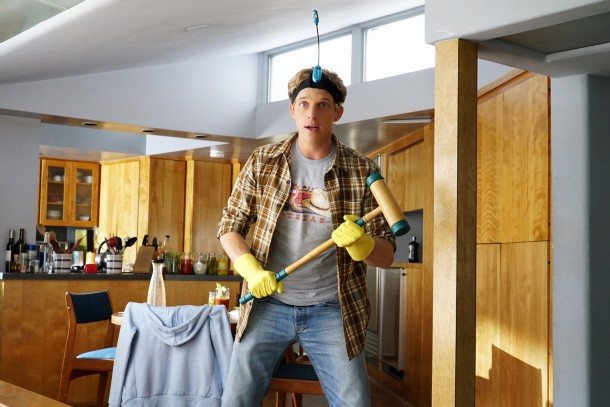 "YOU'RE THE WORST -- ""There Is Not Currently A Problem"" -- Episode 207 (Airs Wednesday, October 21, 10:30 pm e/p Pictured: Chris Geere as Jimmy. CR: Byron Cohen/FX"