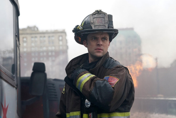 "CHICAGO FIRE -- ""Not Everyone Makes It"" Episode 412 -- Pictured: Jesse Spencer as Matthew Casey -- (Photo by: Elizabeth Morris/NBC)"