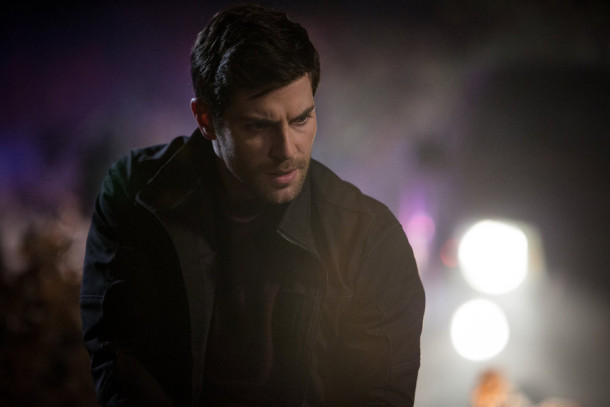 "GRIMM -- ""Star Crossed"" Episode 509 -- Pictured: David Giuntoli as Nick Burkhardt -- (Photo by: Scott Green/NBC)"