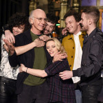 Larry David hosts 'Saturday Night Live' tonight with musical guest The 1975