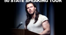Andrew W.K. Announces 'The Power of Partying' 50 State Speaking Tour