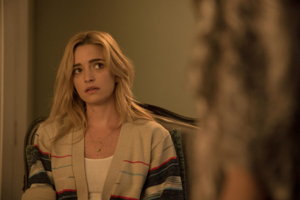 "THE EXORCIST:  Brianne Howey in the ""Chapter Nine: 162"" episode of THE EXORCIST airing Friday, Dec. 9 (9:01-10:00 PM ET/PT) on FOX.  ©2016 Fox Broadcasting Co.  Cr:  Jean Whiteside/FOX"