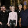 Saoirse Ronan hosts SNL with musical guest U2