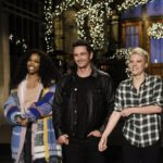 James Franco hosts SNL with musical guest SZA