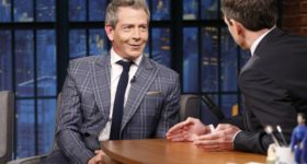 Ben Mendelsohn on 'Late Night with Seth Meyers'