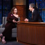Diane Lane talks about joining the cast of 'House of Cards' and more on 'Late Night with Seth Meyers'