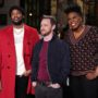 James McAvoy hosts 'Saturday Night Live' tonight with musical guest Meek Mill