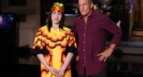 Woody Harrelson hosts SNL tonight with musical guest Billie Eilish